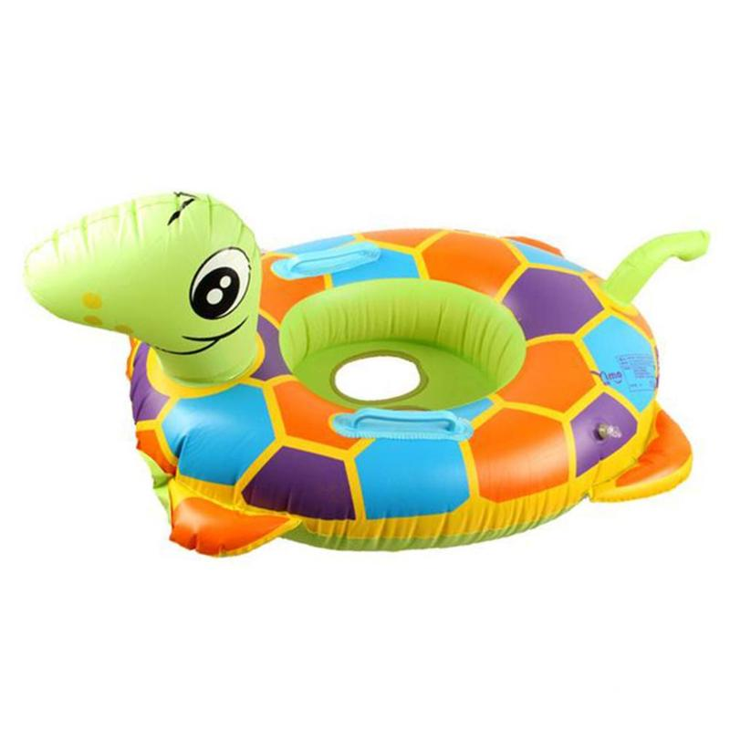 Mini Inflatable Tortoise Pool Float Beach Kids Baby Bathing Toys Party Decoration Swimming Ring Beach Toys for Kids Adults