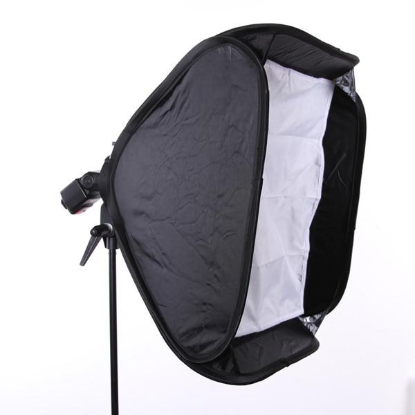 24 60cm Softbox + S Flash Speedlite Bracket Elinchrom Mount Holder + Honeycomb