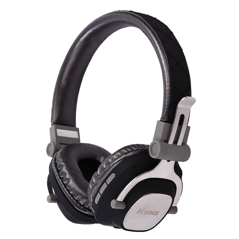 HiFi High Quality Headphones Headset Metal Fold Wireless Bluetooth Earphone  Subwoofer Video Game Portable Stereo Monitor