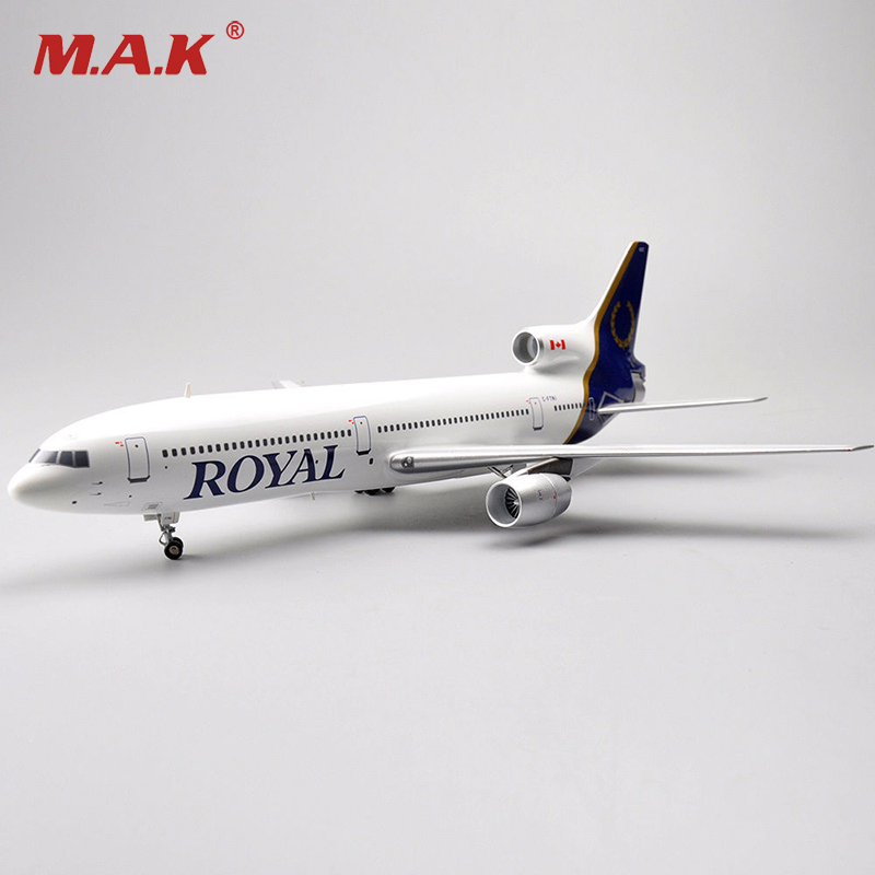 1:200 Scale Inflight ROYAL Lockheed L-1011 Model TriStar C-FTNI Airplane Toys Collections if4742003 b747 200 china civil aviation b 2446 1 400 inflight commercial jetliners plane model hobby