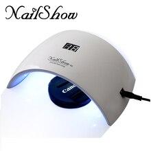 NailShow SUN9S 24W UV LED Lamp USB Nail Dryers Curing Light Polish Phototherapy Nail Gel Manicure Machine Nail Art Salon Tool