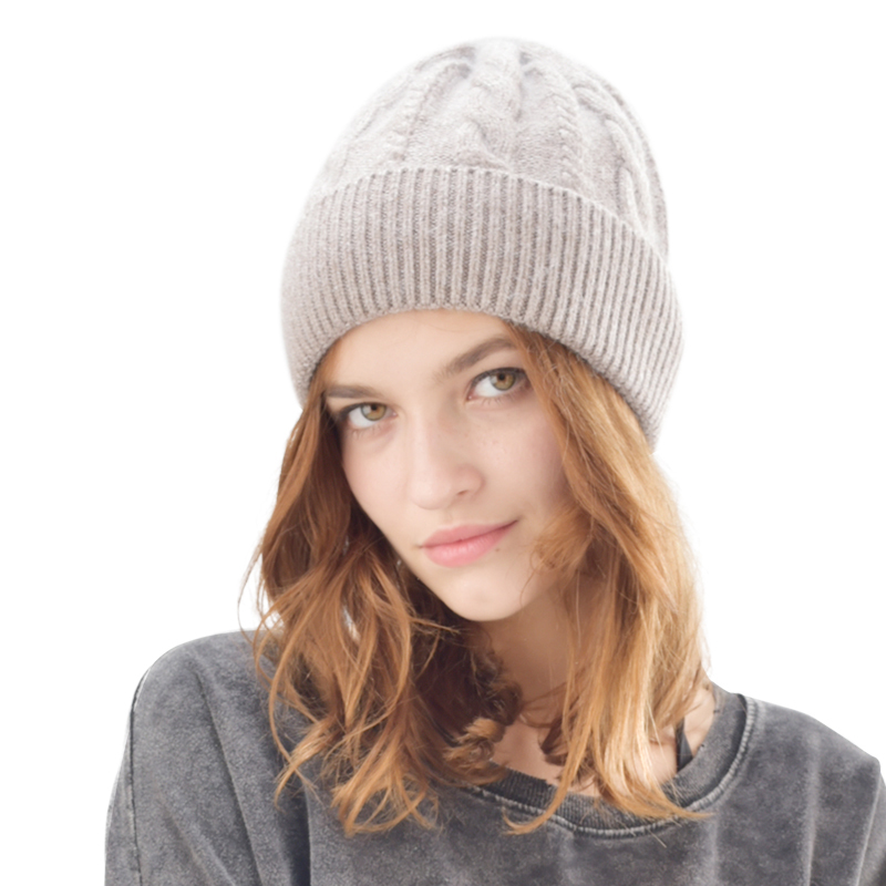 FURTALK winter wool knit hat