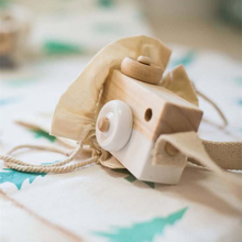 Cute Nordic Hanging Wooden Camera Toy 9.5*6*3cm Room Decor