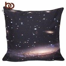 Beddingoutlet hipster 3d galaxy universo espacio ultraterrestre temática impresa fundas de colchón suave funda de almohada para el sofá 45 cm x 45 cm 70 cm x 70 cm