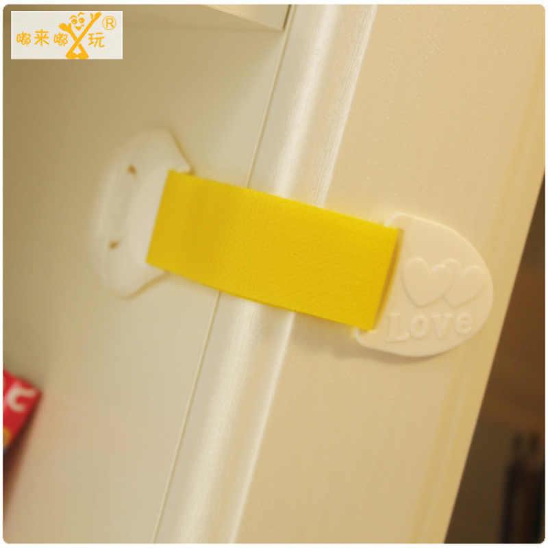 1 Pcs เด็กทารกความปลอดภัยล็อคปรับประตูตู้ลิ้นชักตู้เย็นเด็กล็อคความปลอดภัยสำหรับเด็กทารกสำหรับเด็ก