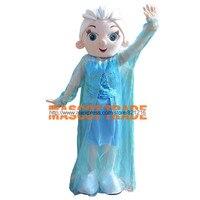 Elsa księżniczka maskotki kostium dla dorosłych rozmiar fancy dress party dla festiwalu uwalnia statek