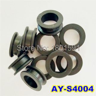 200pieces good quality wholesale viton seals rubber 14*9.2*5.6mm auto parts fuel injector repair kits for toyota (AY-S4004)