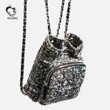 Kujing бренд рюкзак высокое качество Для женщин мини-рюкзак Горячие Аристократка Повседневное рюкзак Бесплатная Для женщин Мода роскошные Рюкзак
