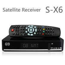 1 unids O Original X6 S X6 ayuda del receptor de satélite 2 xUSB puerto PVR listo VFD display Cccamd Newcamd Youporn