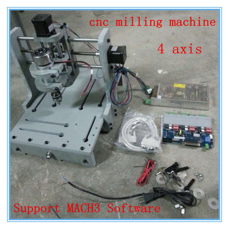 4-Axis T-type Screw Time-limited Woodwork Machines Router Small Cnc Milling Engraving Machine 2030 Pvc Support Mach3 Software small cnc engraving machine 2030 pvc diy cnc computer learning machine mach3 3 axis