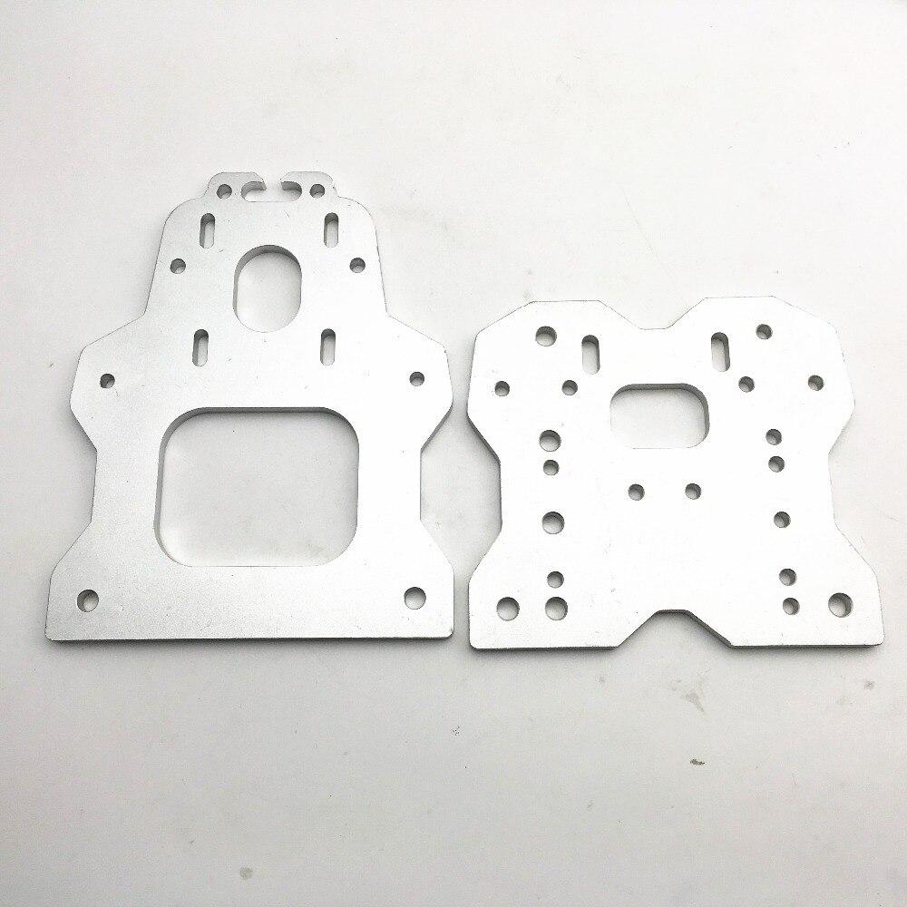 Алюминиевый сплав OX CNC козловая пластина набор Openbuilds маршрутизатор OX CNC Комплект v slot 6 мм толщина Быстрая доставка