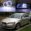 For Volvo S40 V50 2008 2009 2010 2011 HALOGEN Headlight Excellent Angel Eyes Ultra Bright Illumination