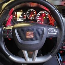 Paleta de cambio de aleación de aluminio para Seat Alhambra Ateca Leon MK3 5F FR, palanca de cambio de extensión de volante