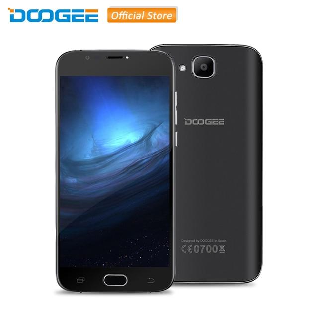 Original DOOGEE X9 mini MTK6580 Quad Core 1.3GHz Android 6.0 Smartphone 5.0'' HD Screen RAM 1GB ROM 8GB Dual SIM 3G WCDMA Phone
