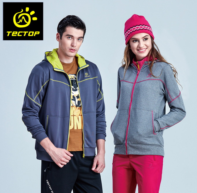 TECTOP Outdoor sports Softshell Jacket Windproof Breathable Hooded Jerseyes Camping Climbing Running Adventure Hiking Jacket