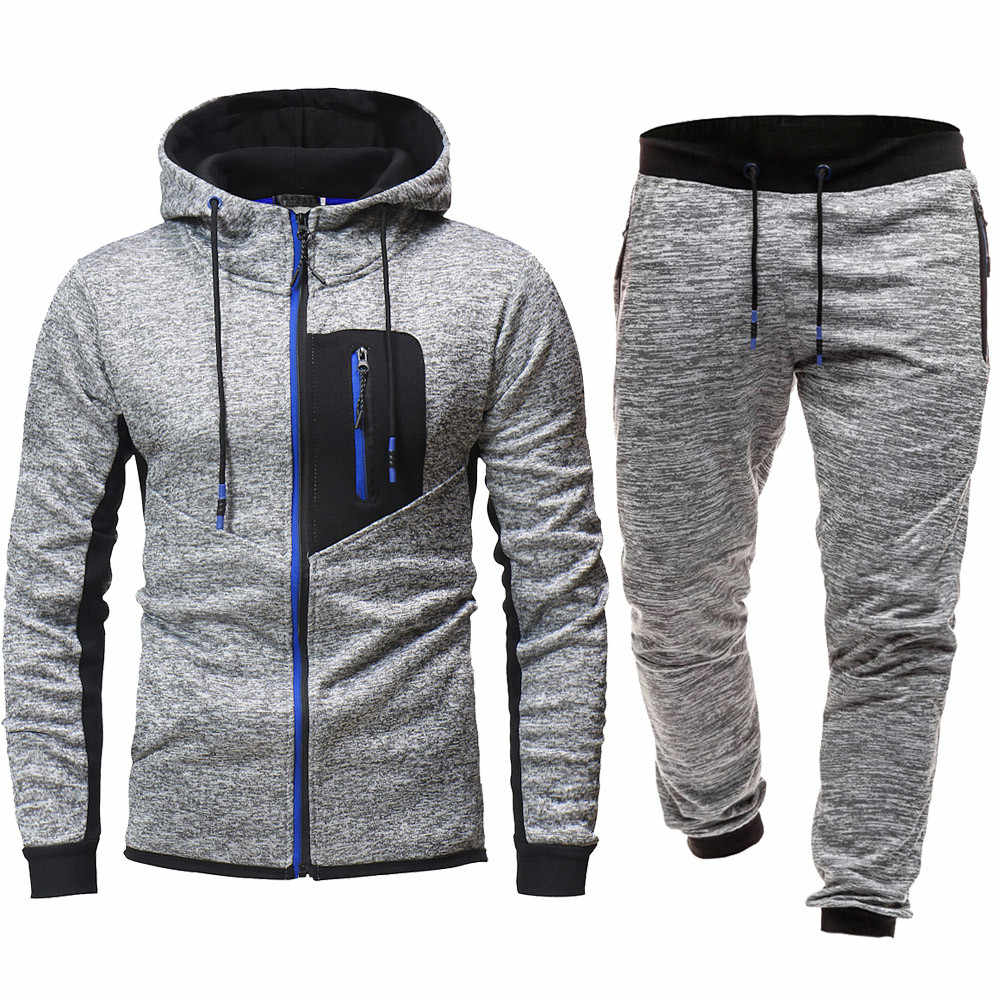 Survêtement jogging homme sweats à capuche