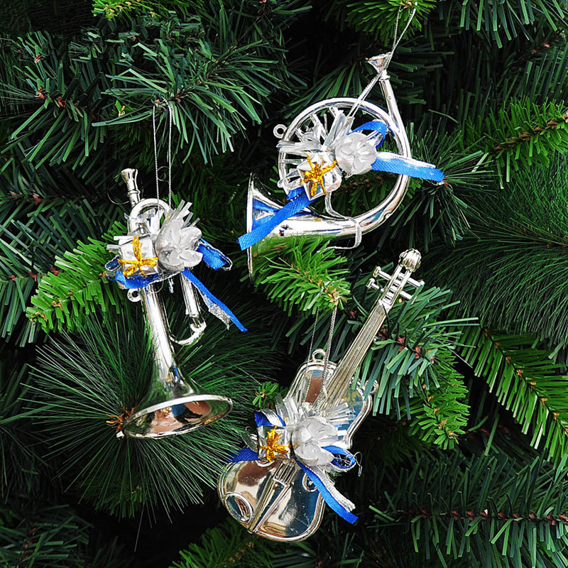 Christmas Musical instrument pendant tree ornaments 15cm light ...