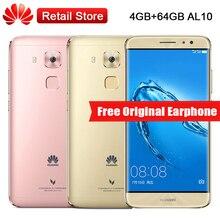 "Huawei Maimang 5 MLA-AL10 4 GB RAM 64 GB ROM 5.5 ""MSM8953 Octa Core 16.0MP 1920×1080 D'empreintes Digitales OTG 3340 mAh Smartphone"