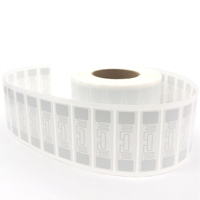 500pcs UHF RFID Tag AZ 9662 H3 Chip ISO 18000 6C 915MHz Passive RFID UHF Sticker