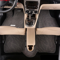Car Believe Auto car floor Foot mat For mercedes w211 cla w212 e klasse gla w176 glk w211 w245 gle a180 car accessories styling