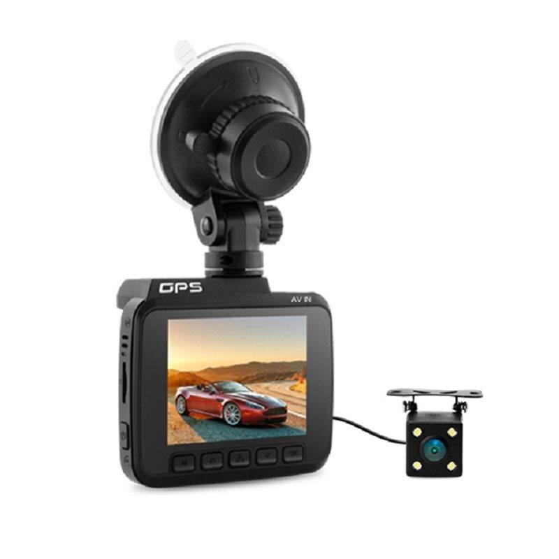 BEESCLOVER Car DVR Recorder 2880 x 2160P Dash Cam Novatek 96660 Camera Dual Lens WiFi FHD 1080P Front + VGA Rear Built in GPS xycing gs63h wifi car dvr novatek 96660 car camera gps tracker 4k ultra hd 2160p night vision dash cam 150 degree angle lens