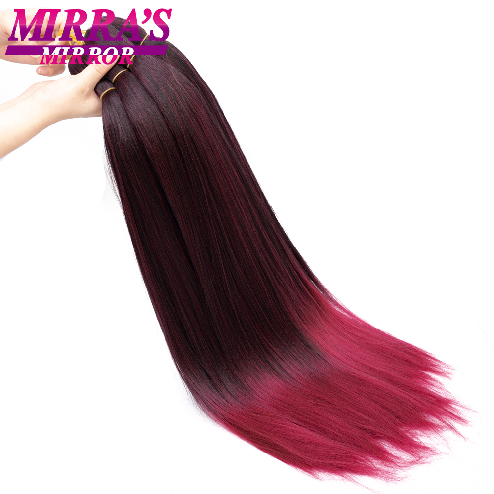 """Image 3 - Mirra's Mirror Jumbo Braids Hair 20""""26"""" T1B/Brown Synthetic Braiding Hair Ombre Crochet Braids Pre Stretched Hair Extensions"""