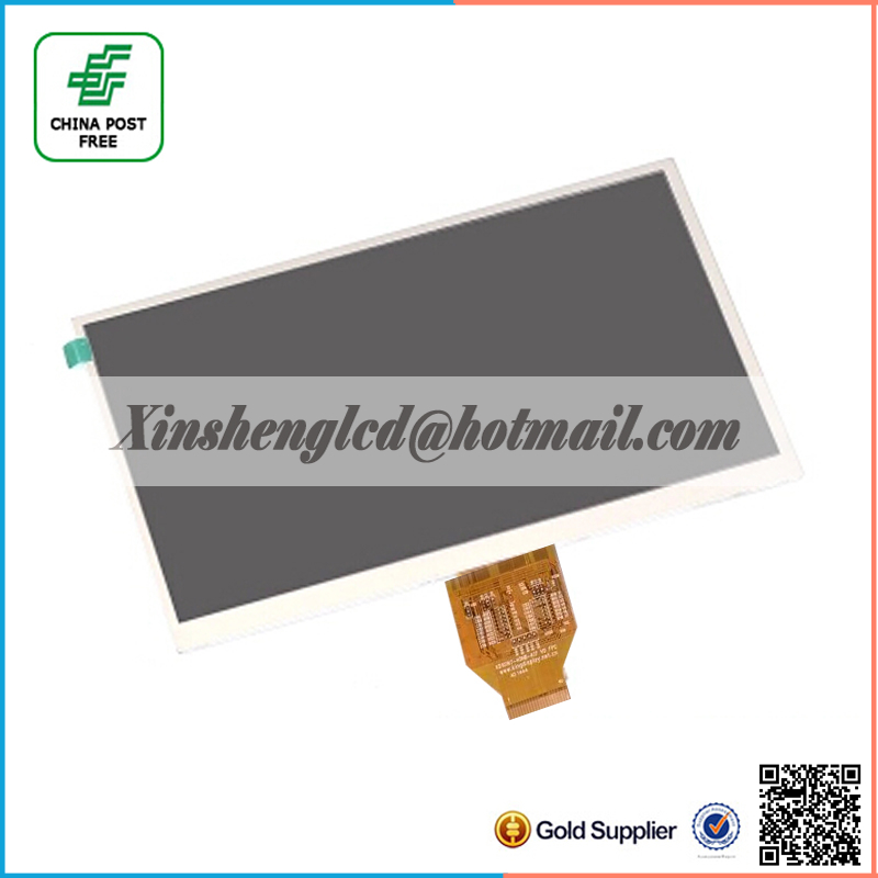 New 10.1 inch Tablet PC lcd display kd101n7-40nb-a17 V0 FPC 40Pins TFT LCD Screen Matrix Replacement Parts Free Shipping