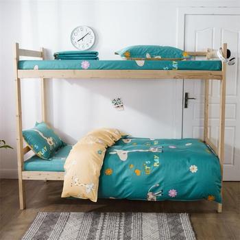 100% Cotton Bedding Sets Blue Deer 3pcs Bedding Sets