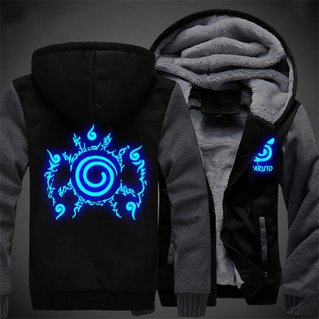 Naruto Luminous Jacket Sweatshirt (12 styles)