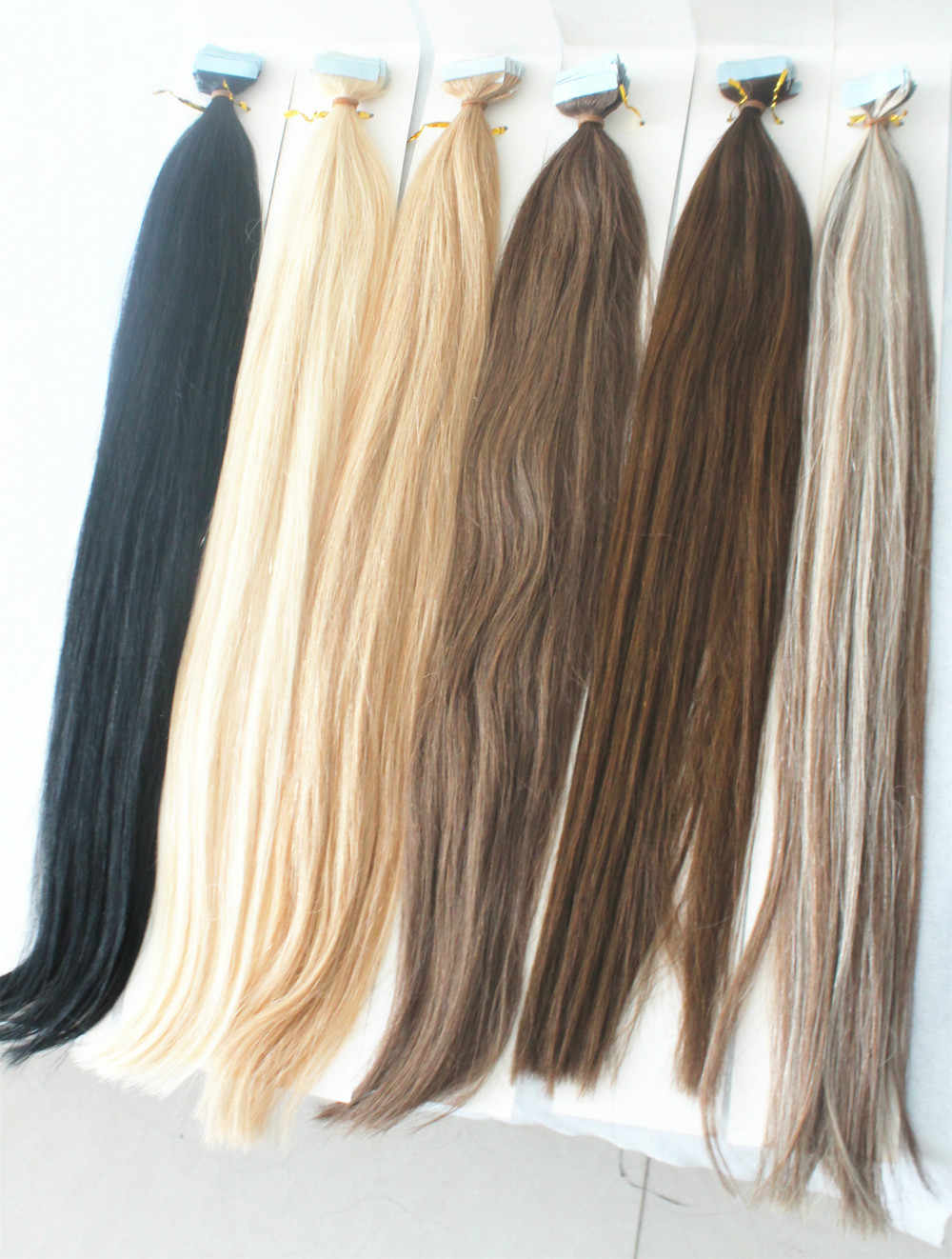 Cheap tape hair extensionsnatural human hair on tape 40pcs 100g cheap tape hair extensionsnatural human hair on tape 40pcs 100g silky straight brazilian virgin hair remy skin weft tape hair in skin weft hair extensions pmusecretfo Choice Image