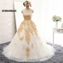 Romantic A Line Applique Sweetheart Floor-Length Long Prom Dresses Evening Gowns Designer DGE046