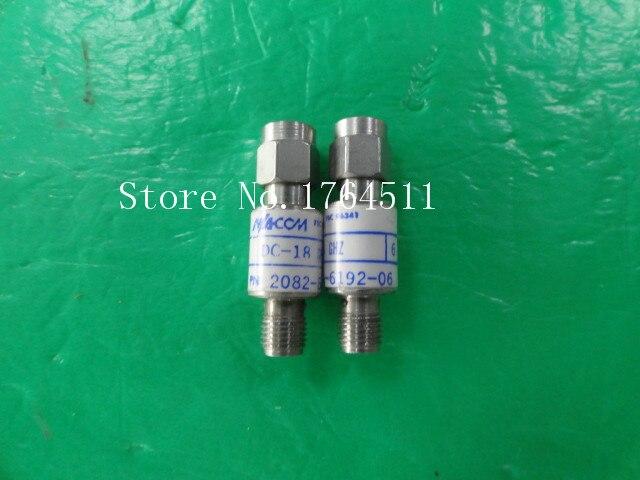 [BELLA] M/A-COM 2082-6192-06 DC-18GHz 6dB 2W RF Coaxial Fixed Attenuator SMA  --2PCS/LOT