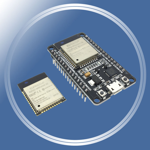 ESP-32S ESP-WROOM-32 ESP32 ESP-32 Bluetooth and WIFI Dual Core CPU with Low Power Consumption MCU ESP-32