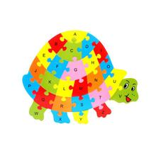 Wooden Animal Shaped Jigsaw Puzzles for Kids