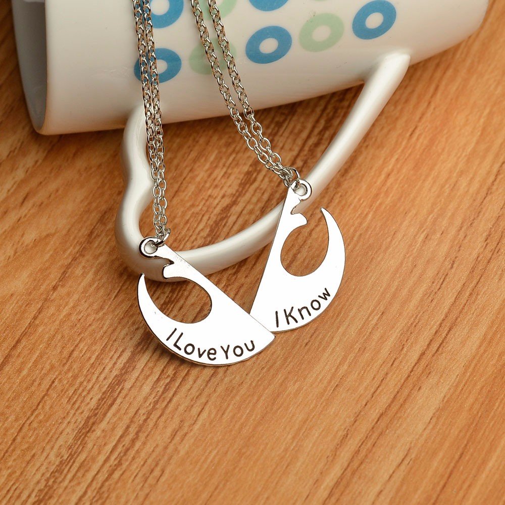 Star Wars Rebel Alliance Couples Necklace