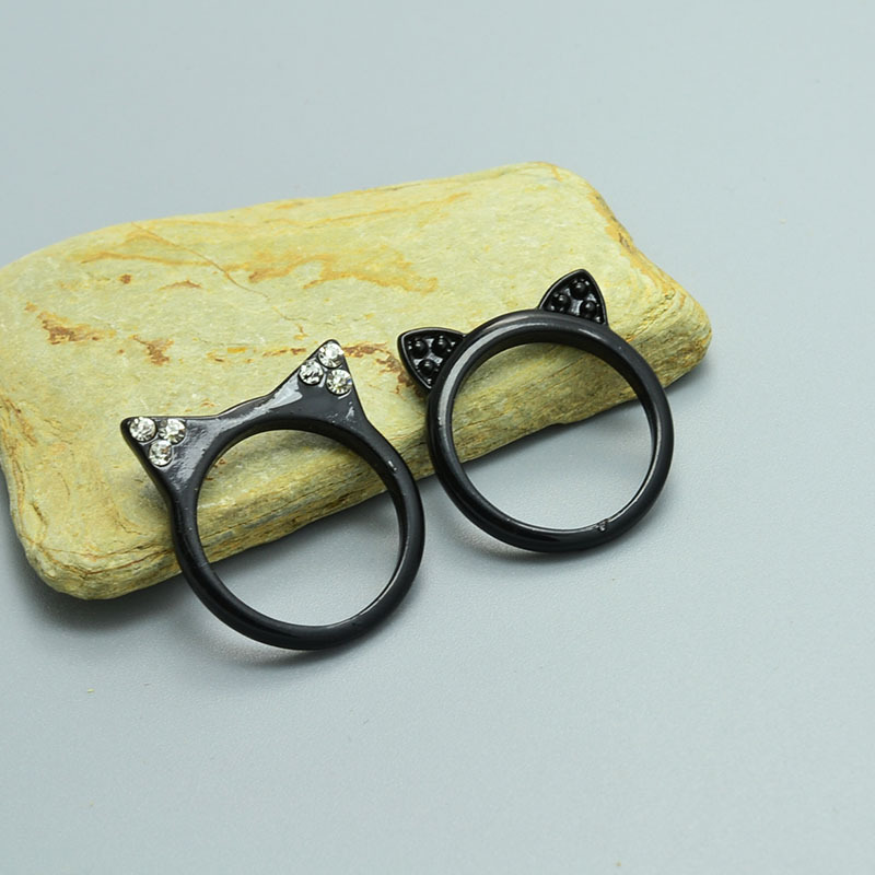 ring my iphone black kitty ears ring 1498