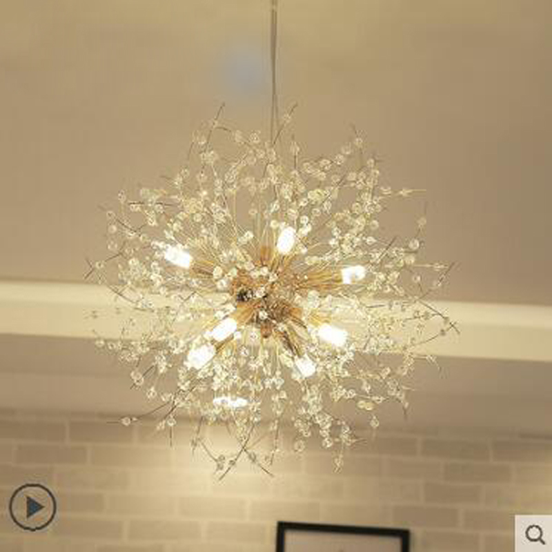 Nordic minimalist living room spark ball crystal restaurant modern creative led art warm bedroom bar chandelier led lighting nordic modern minimalist living room crystal restaurant chandelier crystal creative led art bar warm bedroom lamps led fixture