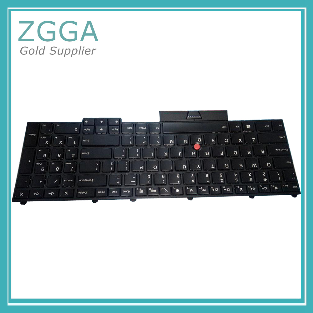 GENUINE NEW Backlit Keyboard US Layout for Lenovo Thinkpad P70 P50 English Backlight R&L Keys Laptop Keyboards 00PA288 00PA370 new notebook laptop keyboard for dell studio 15 1535 1536 1537 0kr770 backlit french layout
