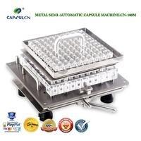Tamanho semiautomático 3 CN-100M do enchimento da cápsula/máquina de enchimento da cápsula/encapsulador/máquina de cápsulas fillable/conexão da cápsula