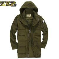 New Survival Tactical Jacket Military Fans Army Military Fans Windbreaker Jacket Long Outerwear Camouflage Color jackets