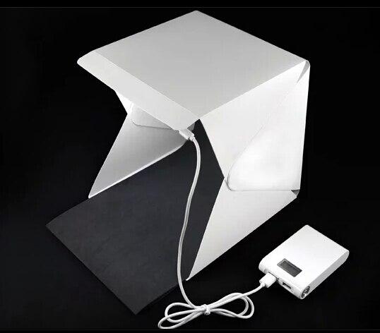 Mini Foldable Softbox Photography Lights With Usb Led Soft