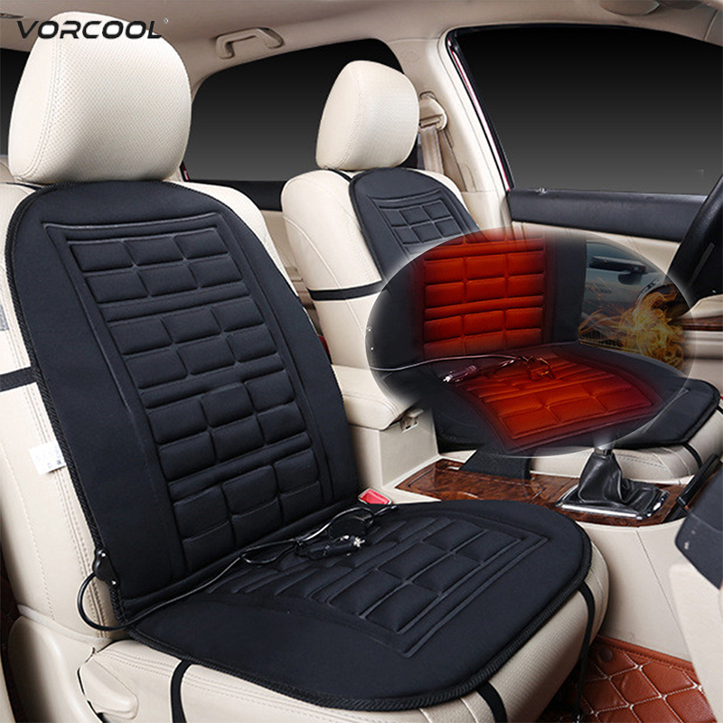 VORCOOL Warmer Cushion-Cover Heating-Seat-Pad Temperature-Control Car-Suv 2 for 1/2pcs