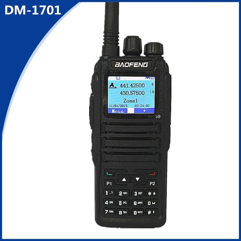 Baofeng DM-1701 Walkie-talkie 2 Dual-slot Dual-frequency Two-way Wireless DMR Ham Amateur Radio Digital Mobile Radio Transceiver