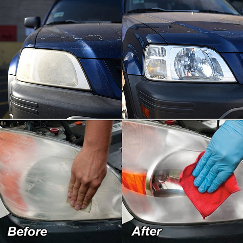 Car Headlight Polish Scratch Renovation Agent Polishing Coat Cars Care Auto Coating Repair Liquid VS998