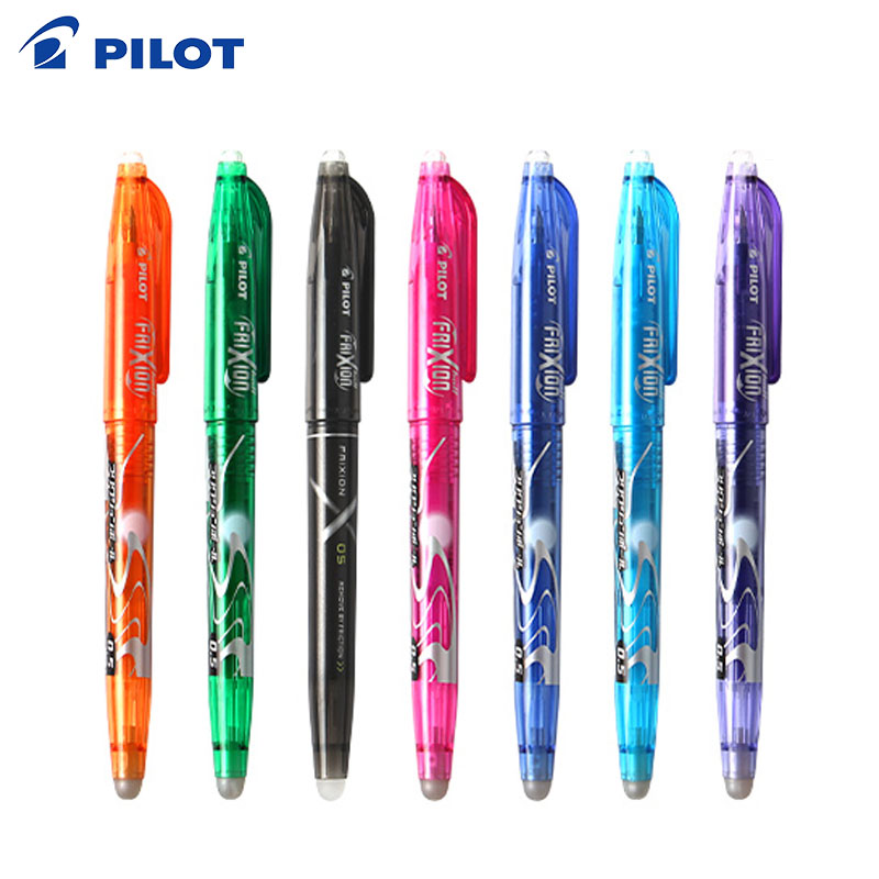 Brand Pilot Frixion Pen LFB-20EF Erasable Gel Ink Pen Medium Tip 0.5 mm PILOT LFB -20EF pen japan pilot hi tecpoint v5rt gel pen test pen tip 4 color 5pcs