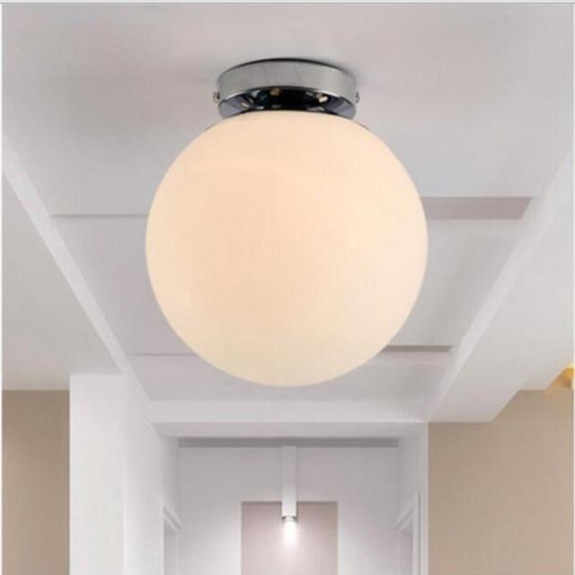 Moderne Simple Led Suspendus Plafonniers Luminaires Mode Couloir Plafond Lampe Pour Salon Bedroon Cuisine dans Plafonniers de Lumi¨res et éclairage