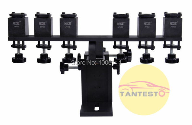 common rail injector stand frame with diesel collector for common rail test  bench, common rail injector clamp frame with collect a846423c3e0