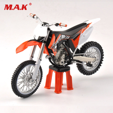 Cheap toys 1/12 Scale 350SX-F Racing Motorcycle Model Vehicles Model Diecast Moto Kids Toys Collection Gifts