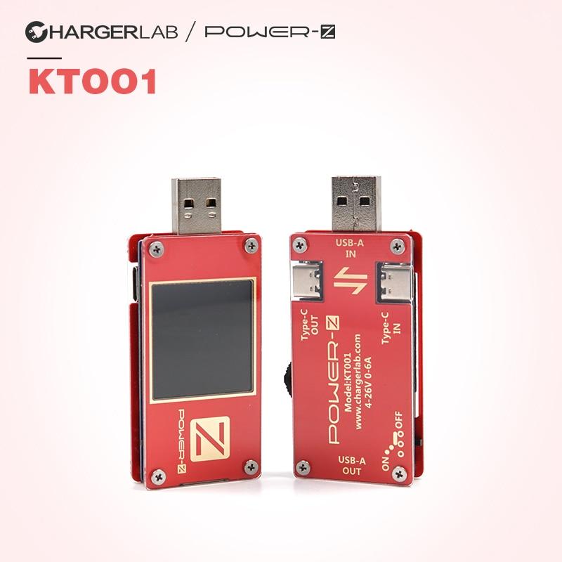 POWER-Z 4-26V 0-6A USB PD Tester MFi Identification of PD Deception Instrument KT001