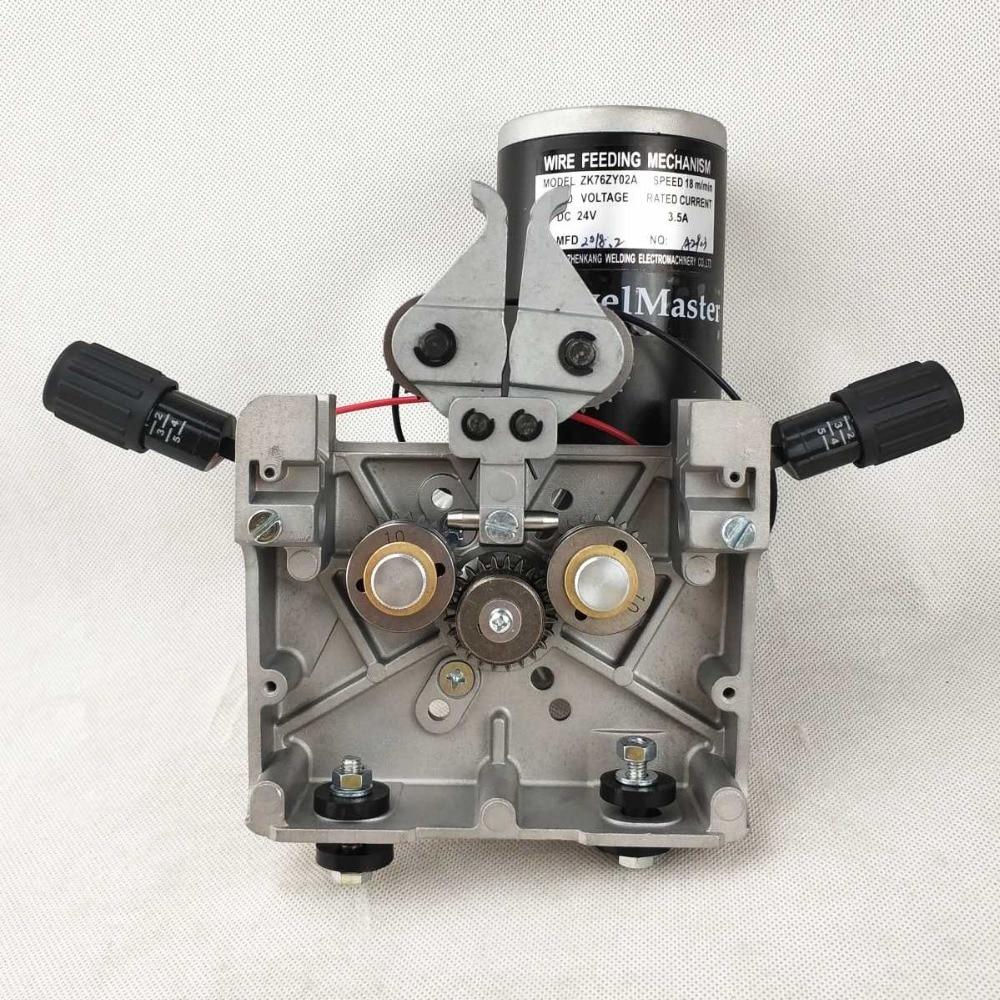 Chargeur de fil MIG/MAG fil de soudage DC 24 V fil d'assemblage d'alimentation ZK 76ZY-02A pour Machine à souder MIG